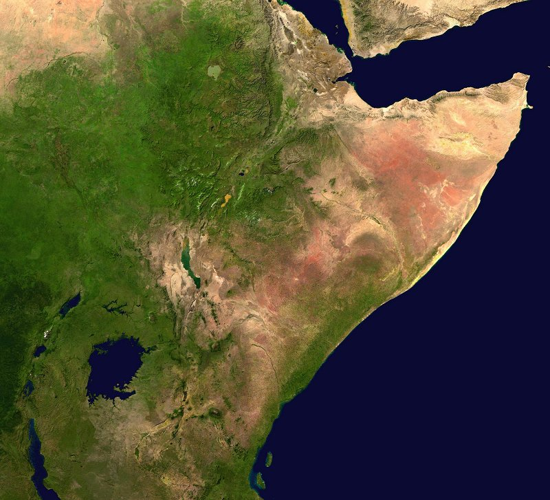 Africa Map Horn Of Africa%0A Africa Map Clipart NASA image courtesy Wikipedia