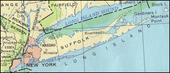 Long Island New York God S Geography