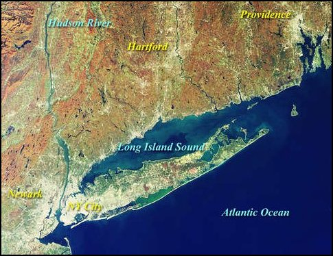 Long island new york gods geography image courtesy nasas visible earth freerunsca