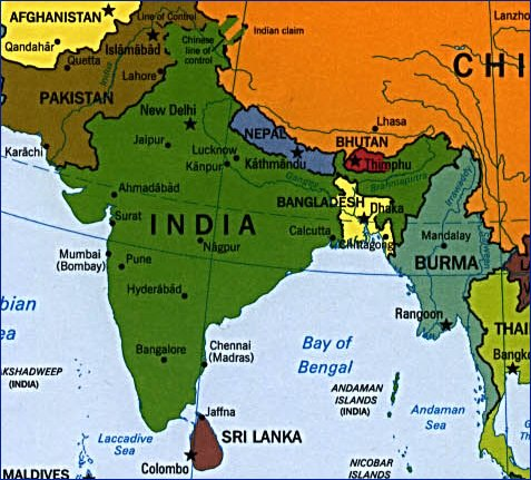 India @ God's Geography
