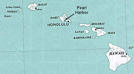 25 war in the pacific the hawaiian islands from east to west hawaii the big island maui kahoolawi lanai molokai oahu gumiabroncs Images