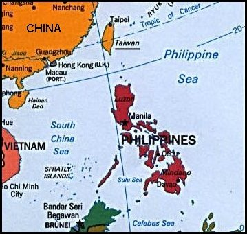 Philippines and Taiwan @ God\'s Geography