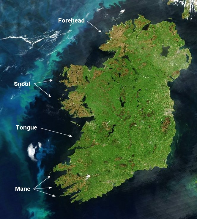 an analysis and geography of the country of ireland Eu referendum: the result in maps and charts 24 june 2016 share this with facebook scotland and northern ireland were the only areas that voted to remain in.