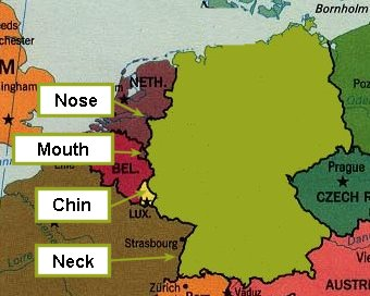 Map Of Northern Germany And Denmark.Germany Denmark Norway And Sweden God S Geography