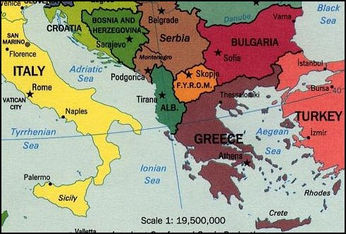 Greece @ God's Geography